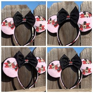 Minnie Mouse Ears, Mickey Ears, Minnie Ears,Disney